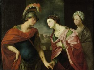 Hector et Andromaque, Johann Heinrich Tischbein XVIIIe
