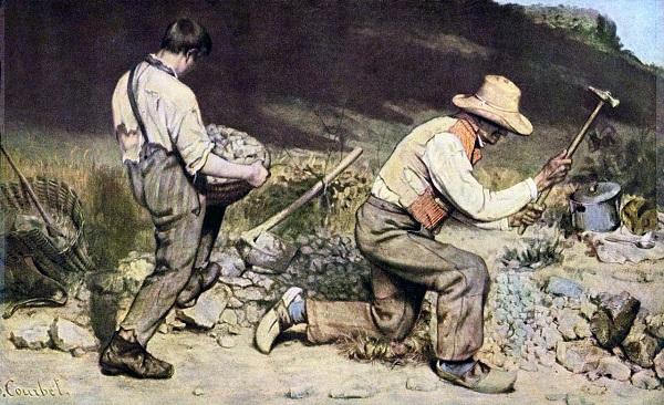 Gustave Courbet - les casseurs de pierres (1849)