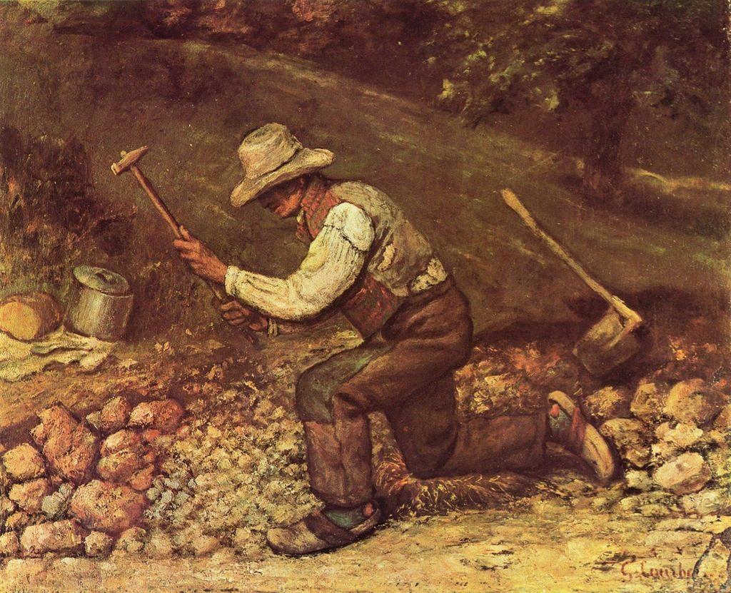Gustave Courbet - le casseur de pierres (1849)
