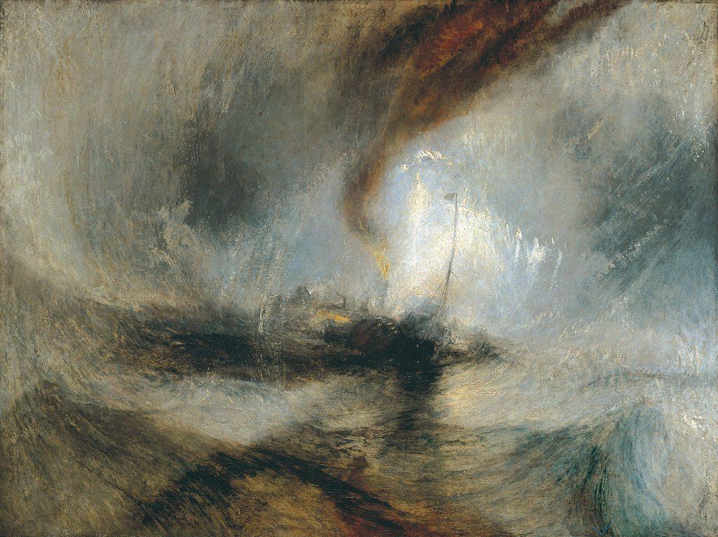 J.M.W. Turner - Tempête de neige en mer (1842)
