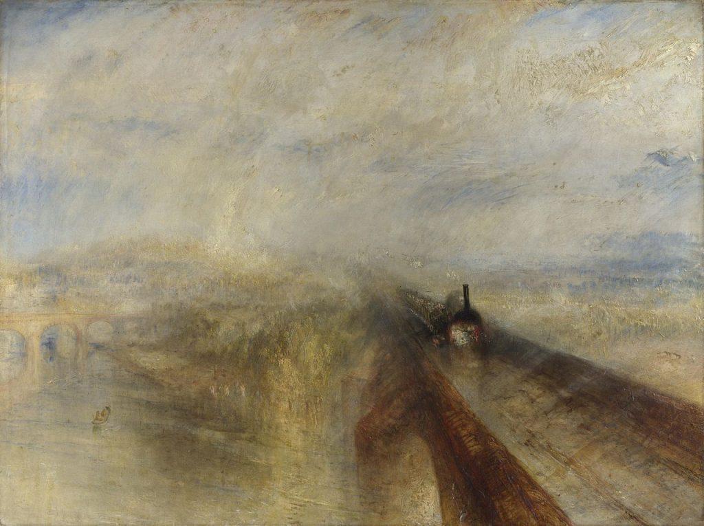 J.M.W. Turner - Pluie, Vapeur et Vitesse (1844)