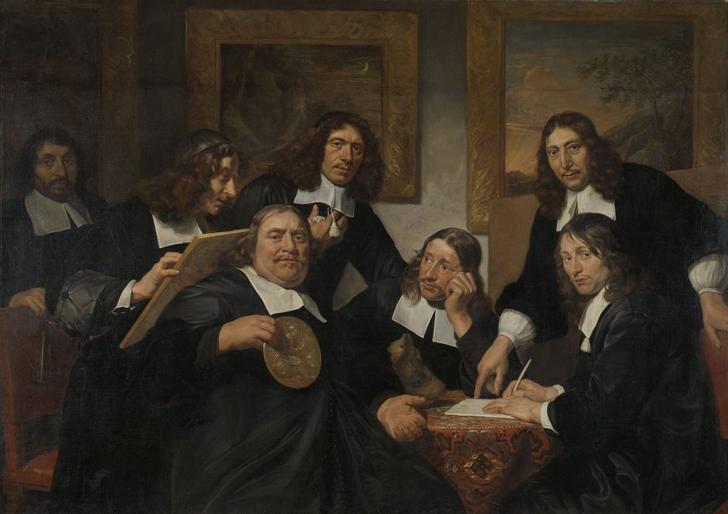 Jan de Bray - Les dirigeants de la Guilde de Saint-Luc (1675)