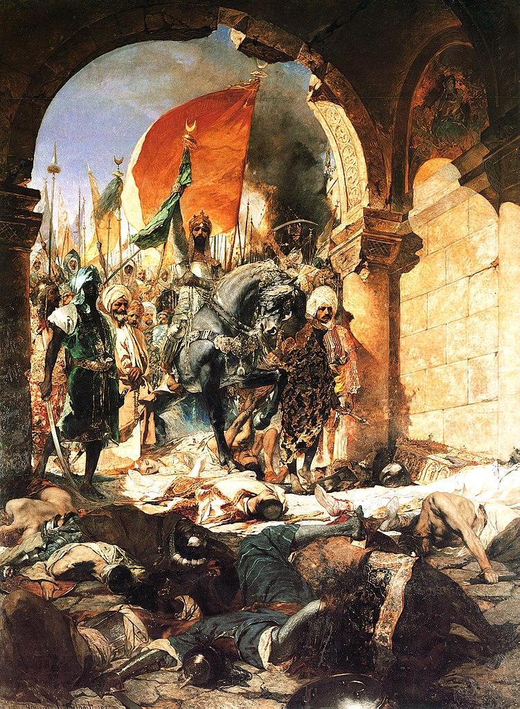 751px-Benjamin-Constant-The_Entry_of_Mahomet_II_into_Constantinople-1876